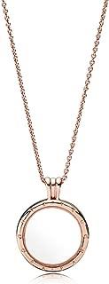 Floating Locket Rose Gold Necklace 38725060