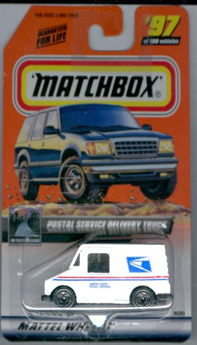 Matchbox 1998-97 Postal Service Delivery Truck 1:64 Scale