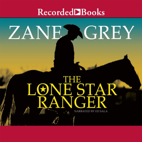 Lone Star Ranger audiobook cover art