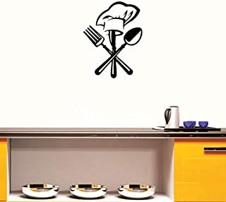 WOCACHI Wall Stickers Decals New Design Kitchen Antifouling Wall Sticker Vinyl House Decoration Art Mural Wallpaper Peel & Stick Removable Room Decoration Nursery Decor