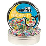 Crazy Aaron's Hide Inside Putty Playset - Mixed Emotions Clear Putty with Hidden Pieces - Non-Toxic, Never Dries Out