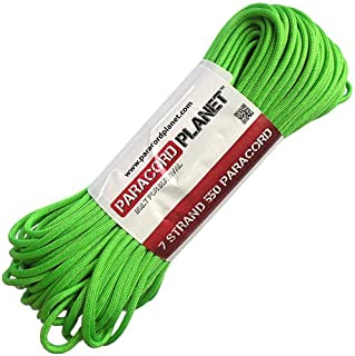 Paracord Planet Mil-Spec Commercial Grade 550lb Type III Nylon Paracord Solid Colors