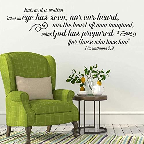 pegatinas de pared counthians 2: 9 Versículos De La Biblia Españoles