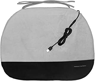 ValueRays Chair Warmer, USB Heated Warm Chair Pad, Infrared Heat Chair Pad, Warm Office Chair Pad