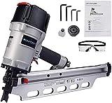 BHTOP 9021NS Framing Nailer 21 Degree 3-1/2' with Depth Adjustment Professional Air Nail Gun