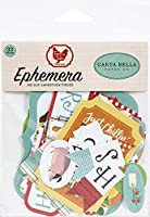 Carta Bella Cardstock Ephemera 33/Pkg-Icons, Farm To Table