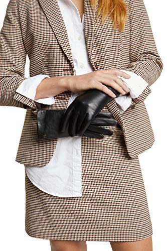 ESPRIT Accessoires Damen 100EA1R301 Winter-Handschuhe, 001/BLACK, 7