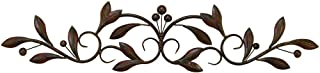 Deco 79 Metal Wall Decor, 38-Inch by 11-Inch by 9-Inch