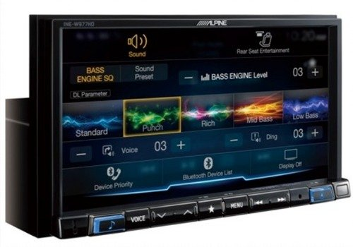Alpine ILX-207 with Alpine Back Up Camera and Sirius Xm Tuner