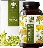 Holi Natural® Premium Weihrauch Extrakt. 85% Boswellia-Säure. 140 Kapseln. Hochdosiert mit 2000mg je Tagesdosis (4 Kapseln). ECHTE Indische Boswellia Serrata. Vegan und ohne Zusätze