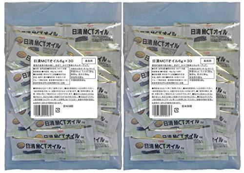 日清 MCT オイル (6g×30包)×2袋 【セット商品】