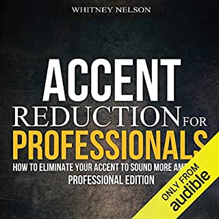 Accent Reduction for Professionals audiobook cover art