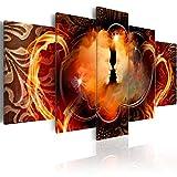 murando - Cuadro en Lienzo 200x100 cm Impresión de 5 Piezas Material Tejido no Tejido Impresión Artística Imagen Gráfica Decoracion de Pared Abstracto Ornament h-A-0069-b-m