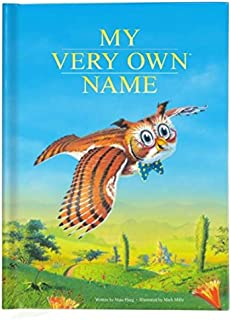 Personalized Storybook for Children, New Baby Gift, Custom Name Book for Kids, Owl Book