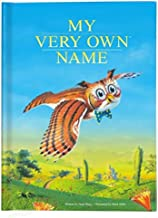 Personalized Children's Book Baby Shower Gift Owl Book, Personalized Children's Book and Baby Shower Gift, My Very Own Name