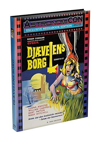 Francis Ford Coppola: DEMENTIA 13 - 2-Disc wattiertes Mediabook - ASTRO Kult-Edition - Cover A (Blu-ray + DVD) Limited 50 Edition - Uncut