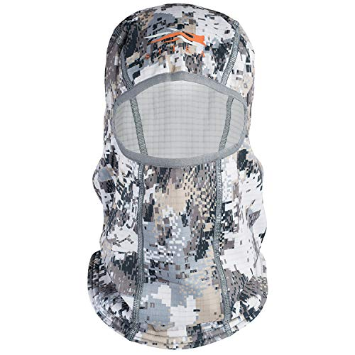 SITKA Gear Men's Male Heavyweight Concealment Hunting Performance Fit Balaclava, Optifade Elevated Ii, One Size