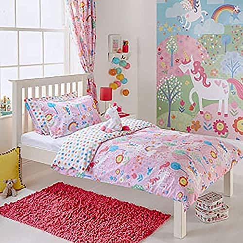 Unicorn Toddler D/S Pink, Rosa, (120 X 150 Cm)