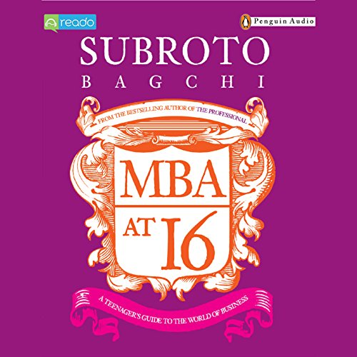MBA at 16 audiobook cover art