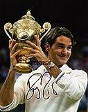 Limited Edition Roger Federer Signiert Foto Autogramm