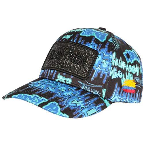 Gorra El Patrón Azul Colombia Print Streetwear Fashion Baseball Medellin – Unisex azul Talla única