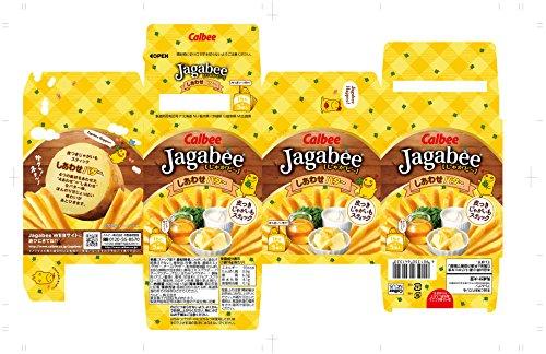 『カルビー じゃがビー Jagabee しあわせバター 80g×12箱』の2枚目の画像
