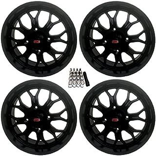 GMZ Apex UTV Wheels Black 18