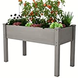AMZFINE Wooden Raised Planter Box