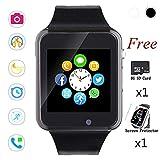 Bluetooth Smart Watch,Touch Screen Sport Wrist Watch Phone for Android Pedometer Smartwatch Compatible Samsung Men Women
