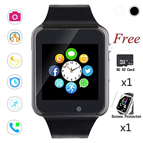 SmartWatch,Touch Screen Sport Wrist Watch Phone for Android IOS Pedometer...