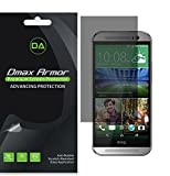 [2-Pack] Dmax Armor for HTC One M8 Privacy (Anti-Spy) Screen Protector Shield