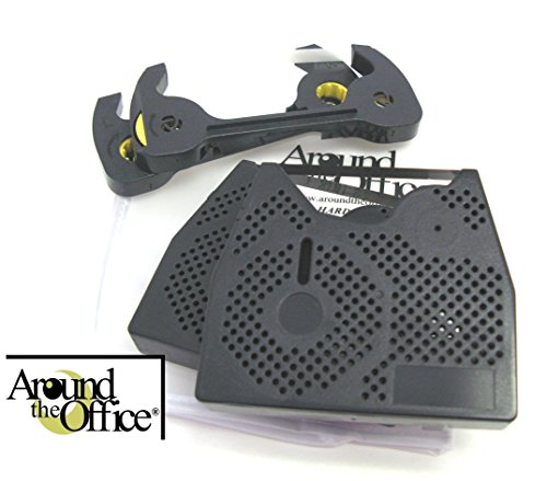 Around The Office Compatible Smith Corona Typewriter Ribbon & Correction Tape for PWP 90.This Package Includes 2 Typewriter Ribbons and 2 Lift Off Tapes