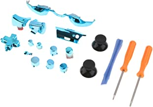 Homyl 18-in-1 Controller Buttons Replacement Kit Full Button Set for Microsoft Xbox One Elite Parts, Blue