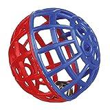 Trixie 5360 Rasselball mit Schelle, ø 4,5 cm