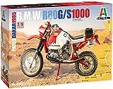 Italeri 4641. Maqueta Moto Trail R80 G/S 1000 Paris Dakar 1985. Escala 1:9