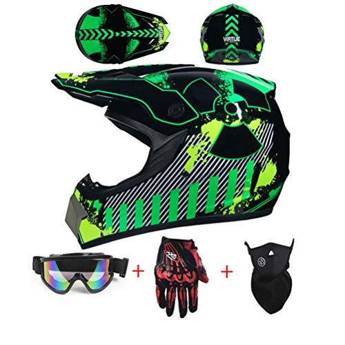 NJYBF - Casco para bicicleta de montaña, casco todoterreno, casco de motocross, casco de ciudad, BMX, casco de moto, casco de motocross, locomotor, bicicleta de montaña, casco off road D.O.T,