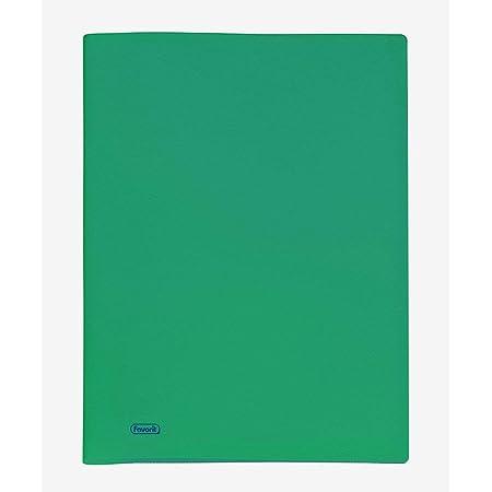 Favorit 100460287 Portalistino a 50 Buste, Verde, 22 x 30 cm