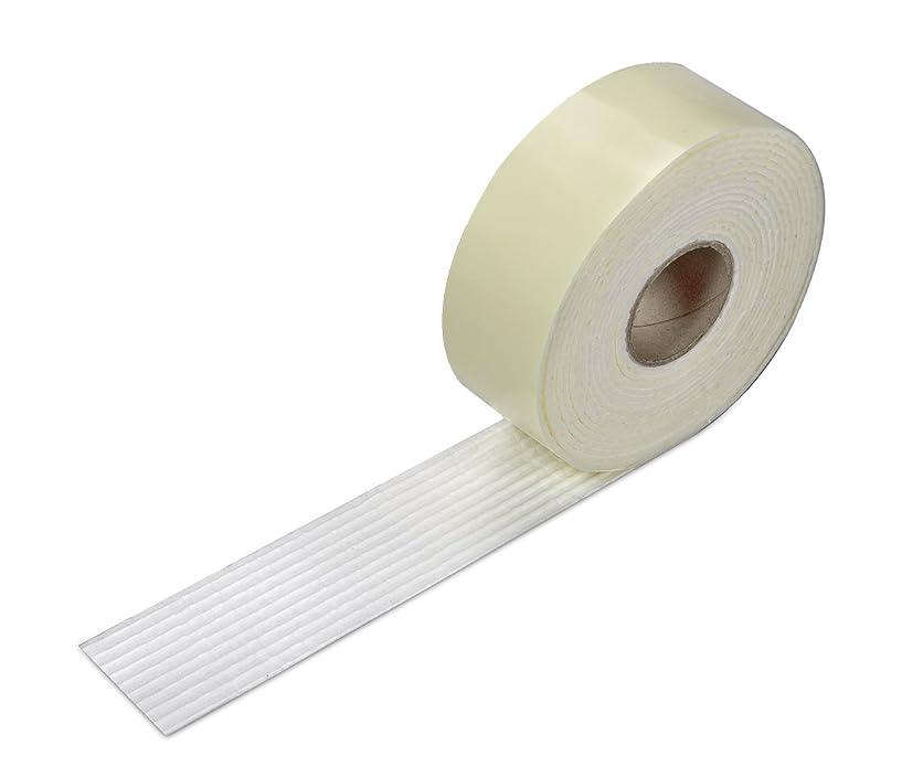 認識コードレスハイキングサンコー ズレない 安心 滑り止めテープ カーペット マット 用 4cm×4m おくだけ吸着 日本製 OK-807