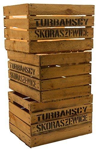 Kistenkolli Altes Land 3 Stück Massive Obstkisten TS Weinkisten Apfelkisten Holzkisten Shabby Vintage xxxgebrauchtxxx