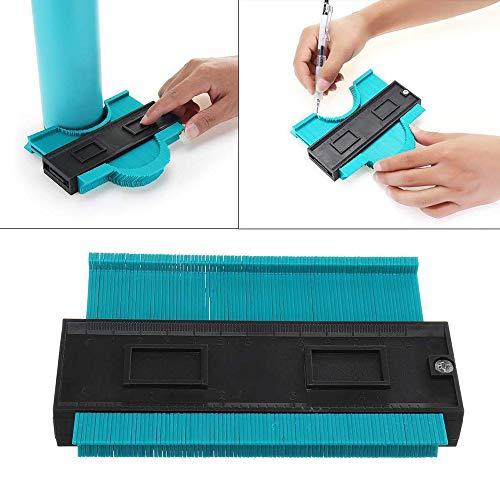 FGASAD Kontur-Profil-Messgerät, hohe Genauigkeit, Handkontur-Profil-Werkzeug, Kurven-Transfermesser, Bodenfliesen, Holzmarkierungswerkzeug.