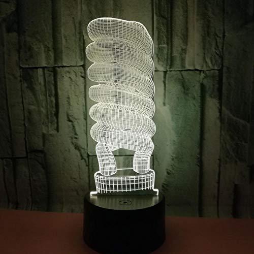 Energiespaarlamp, tafellamp, stereo, nachtzicht.