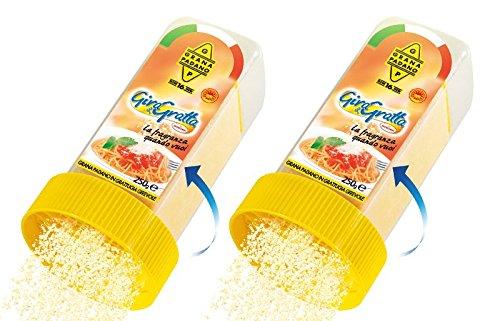 Grana Padano - GIRA & GRATTA 250g (confezione da 2 Pz da 250g)