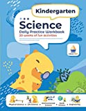 Kindergarten Science: Daily Practice Workbook | 20 Weeks of Fun Activities (Physical, Life, Earth and Space Science, Engineering | Video Explanations Included | 200+ Pages Workbook)