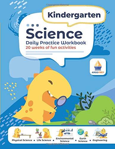 Kindergarten Science: Daily Practice Workbook | 20 Weeks of Fun Activities