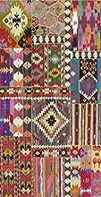 Vilber Alfombra, Vinilo, Multicolor, 40X78