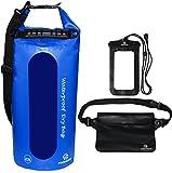 Freegrace Waterproof Dry Bags Set of 3 Dry Bag with 2 Zip Lock Seals & Detachable Shoulder Stra…