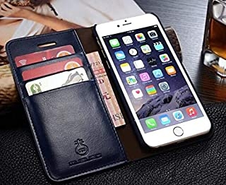 7c7671e00 1 piece WMZSUCC for iPhone7 Case Genuine Leather Retro Wallet Flip Cover  Cases for iPhone 8