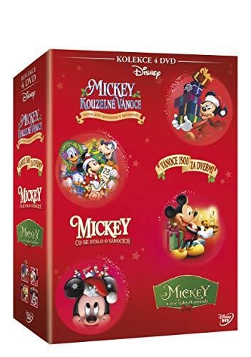 Vanocni Mickey kolekce 4DVD / Mickey's Once Upon A Christmas + Mickey's Twice Upon A Christmas + Mickey's Magical Christmas + Cout (czech version)