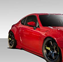Extreme Dimensions Duraflex Replacement for 2013-2020 Scion FR-S Toyota 86 BRZ GT500 Wide Body Side Splitters - 2 Piece