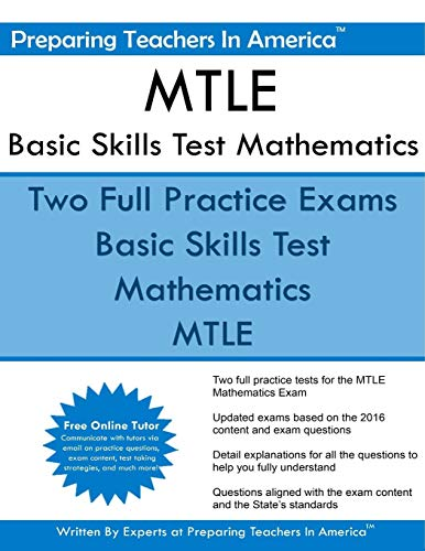 MTLE Basic Skills Test Mathematics: Minnesota Teacher Licensure Examinations
